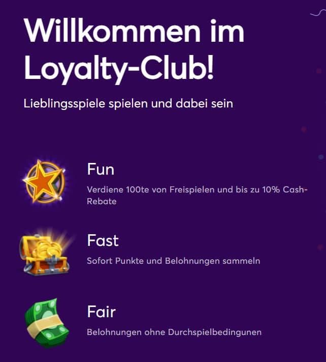 Bitcasino Loyalty Club